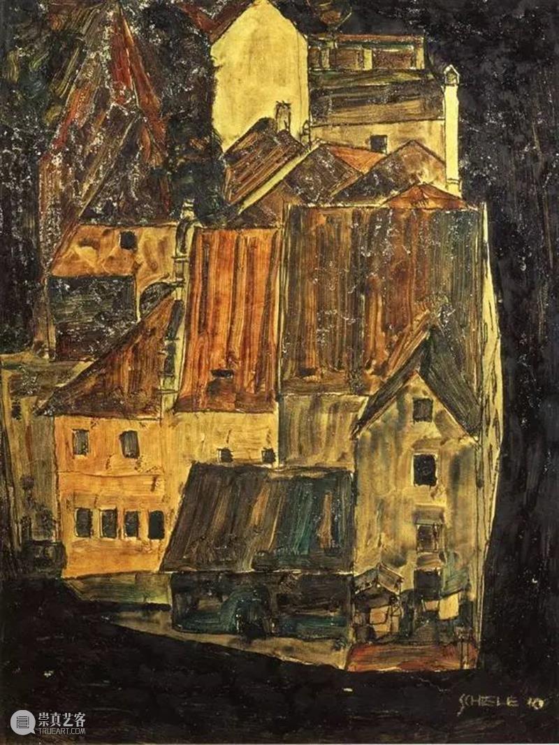 埃贡·席勒1918年10月31日因流感病逝年仅28岁 崇真艺客