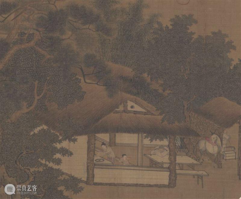 古代母亲的一天 母亲 古代 大宋 客店 窗外 晓月 征人晓发图 南宋 佚名 故宫博物院 崇真艺客