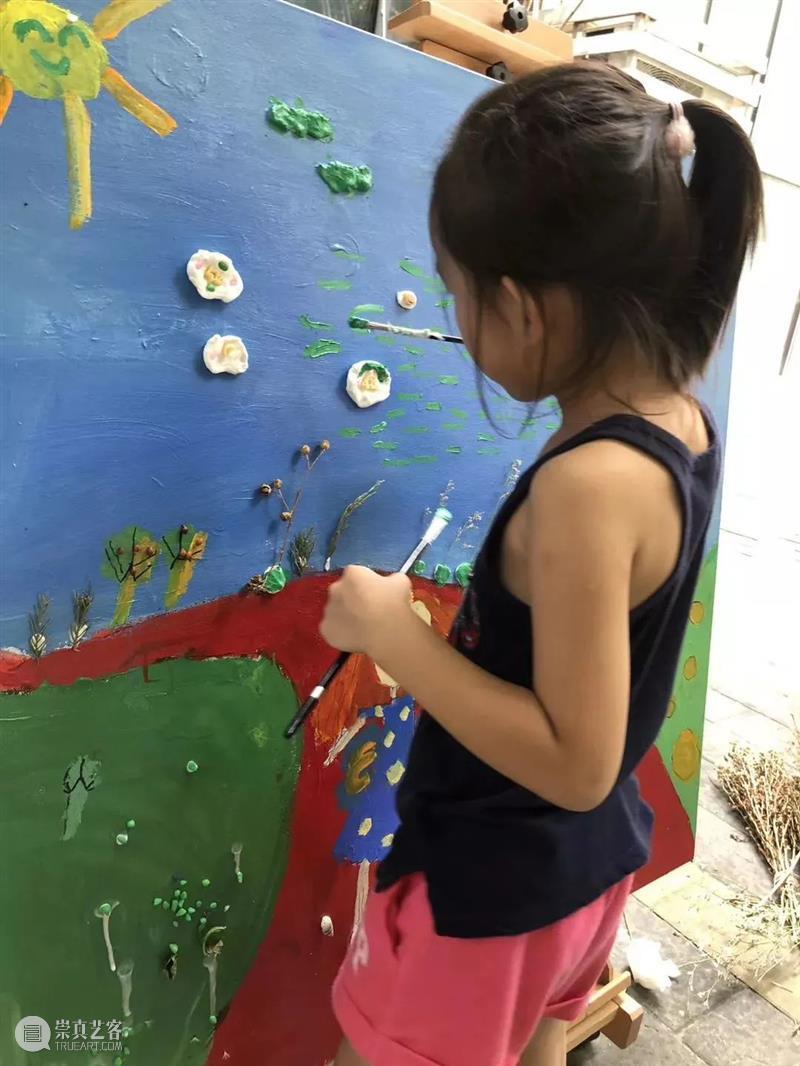 今日美育 丨一平米的油画究竟有多少秘密? 油画 美育 秘密 节气 天气 艺术 孩子们 今日美术馆 冬令营 小朋友们 崇真艺客