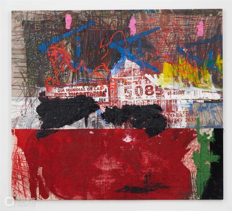 今日生日   奥斯卡·穆里略(Oscar Murillo) 奥斯卡·穆里略 Murillo 生日 卓纳 画廊 无题 透纳奖 得主 穆里略 哥伦比亚 崇真艺客