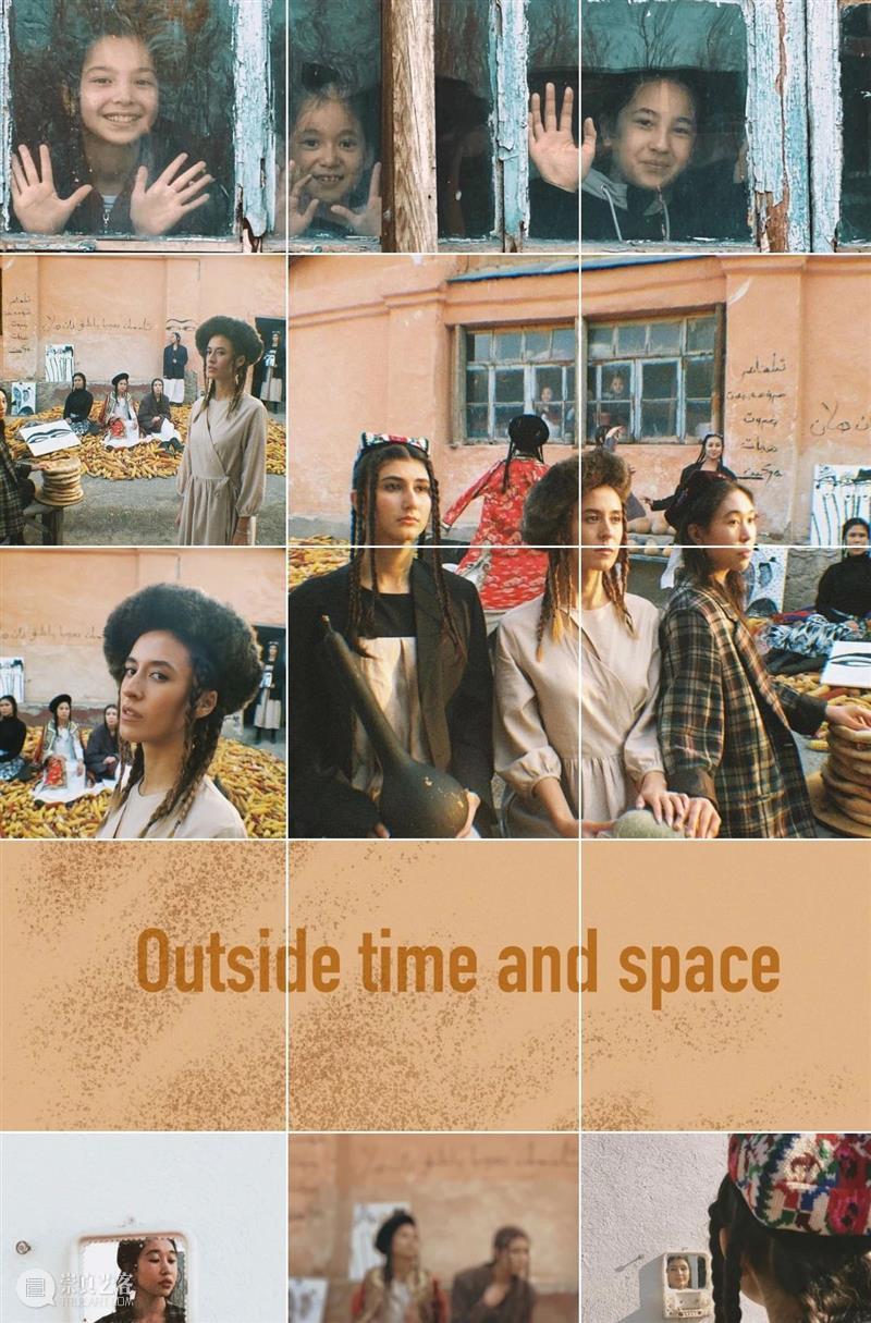 她带领一群女孩儿,把田间地头当展览馆,借此表达对女性的倾慕 女性 女孩儿 田间 地头 展览馆 青年 艺术家 古扎丽 Guzel 摄影师 崇真艺客