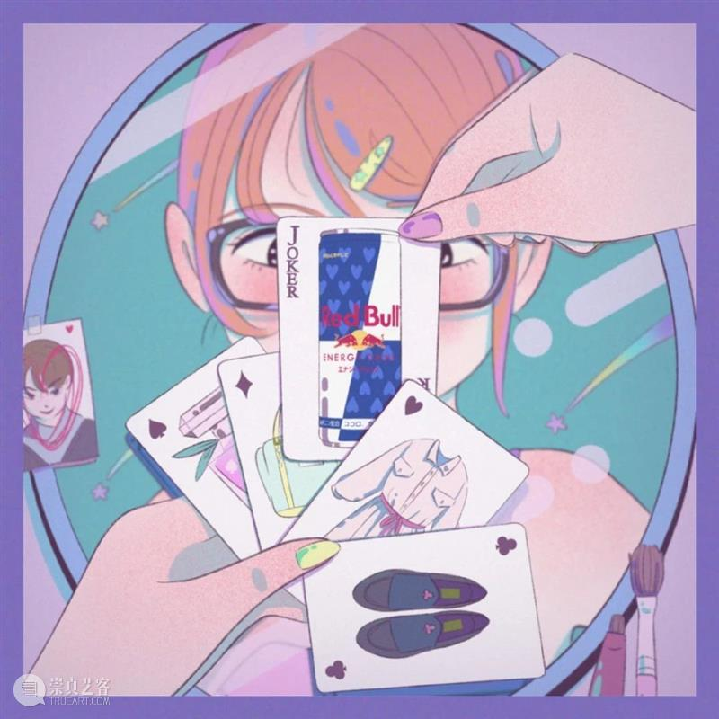 少女插画,这样的色彩一看就会心动 ! 少女 插画 色彩 END 崇真艺客
