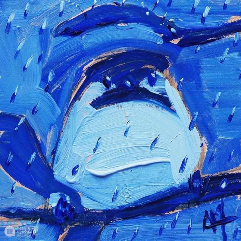 枝头啼鸟一声 枝头 啼鸟 Angela Moulton 抠像 色调 身体 形状 笔触 鸟类 崇真艺客