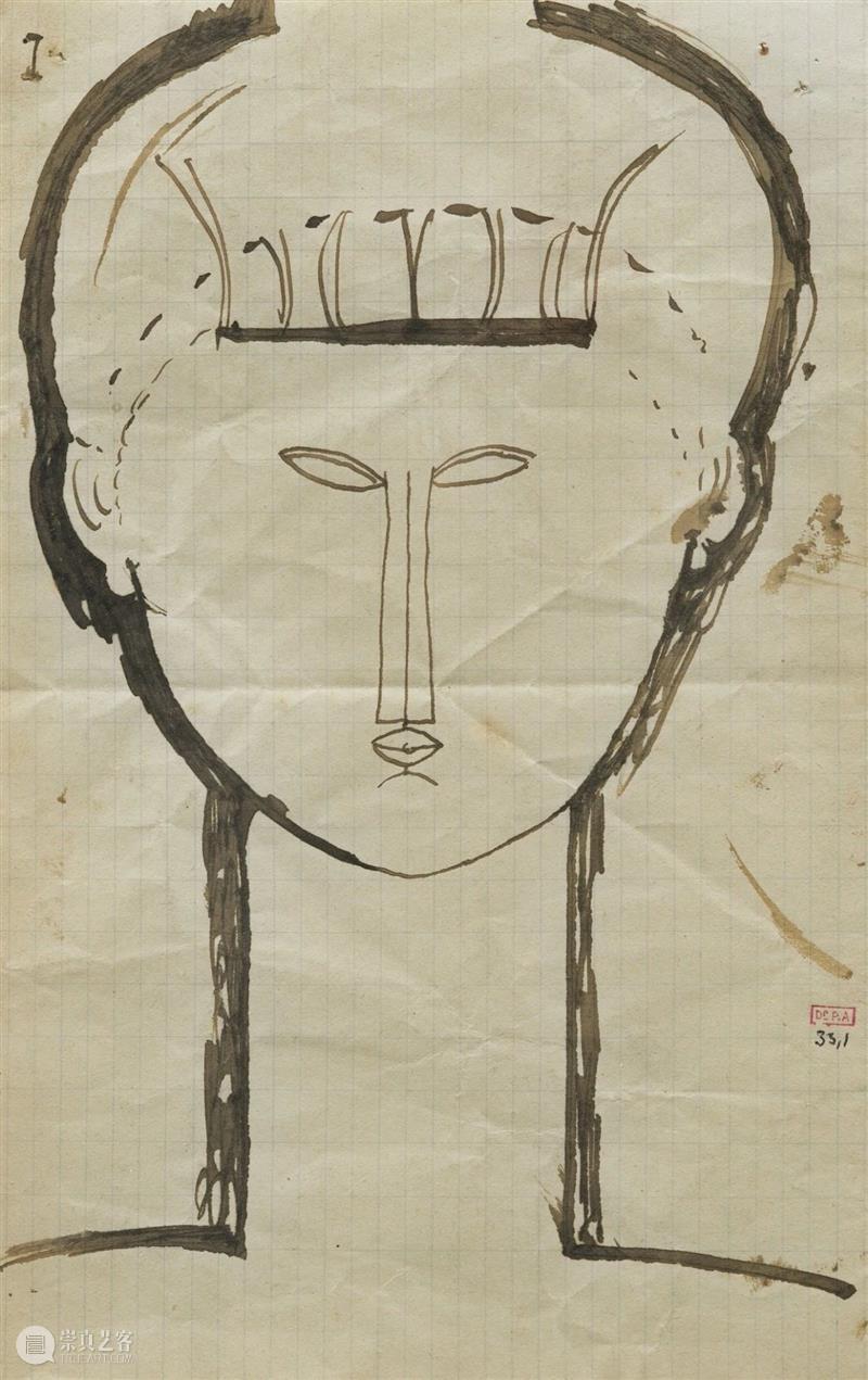 绘画丨莫迪里阿尼 高清作品全集 莫迪里阿尼 绘画 作品 全集 阿梅 代奥 意大利 画家 法国 巴黎画派 崇真艺客