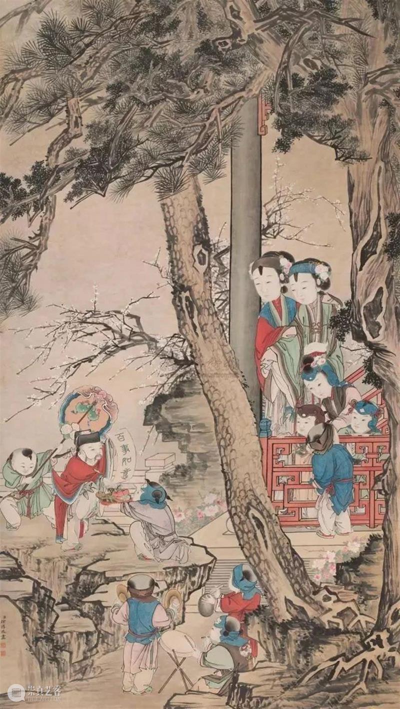 【有艺思】国画里的新年,看看古代艺术圈都是咋过春节的~ 古代 新年 艺术 艺思 国画 春风送暖入屠苏 千门万户曈曈日 家家户户 疫情 很多人 崇真艺客