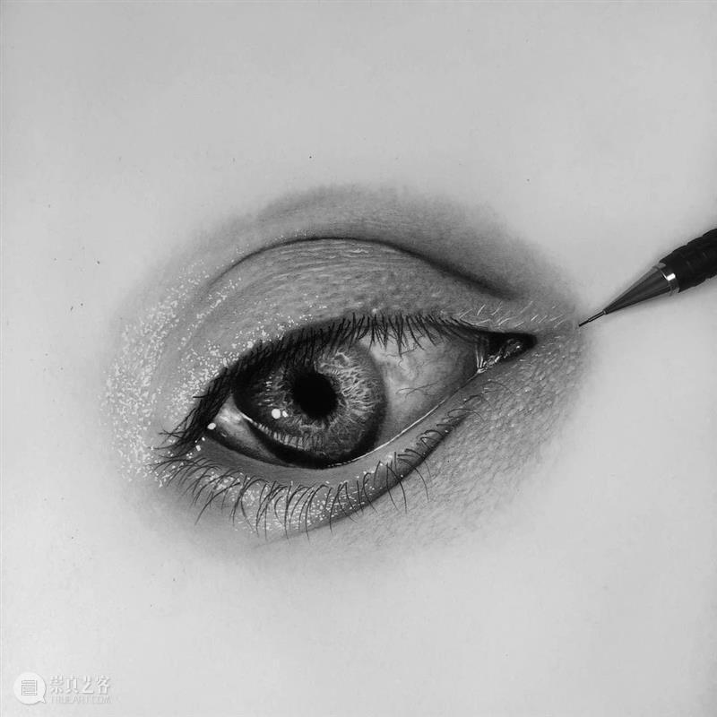 眼睛原来可以画得这么有立体感,不会的进来临摹 ! 眼睛 立体感 END 崇真艺客