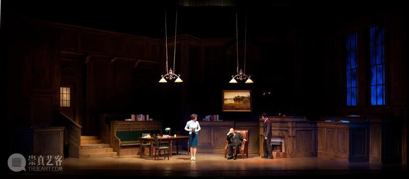 """《原告证人》· 十周年   """"是你告诉我,只有想不到,没有做不到。"""" 博文精选 上海话剧艺术中心 崇真艺客"""