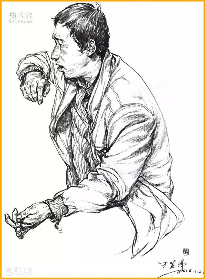 【速写】生动与否,要看你的人物轮廓是否画到位了 ! 人物 轮廓 部分 知识点 小志 团队 作品 秘诀 严谨度 要求 崇真艺客