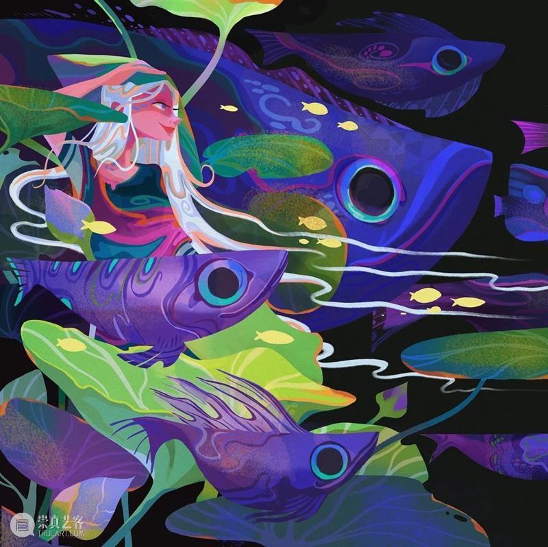 真的好喜欢这种画风!颜色特别美! 画风 颜色 END 崇真艺客