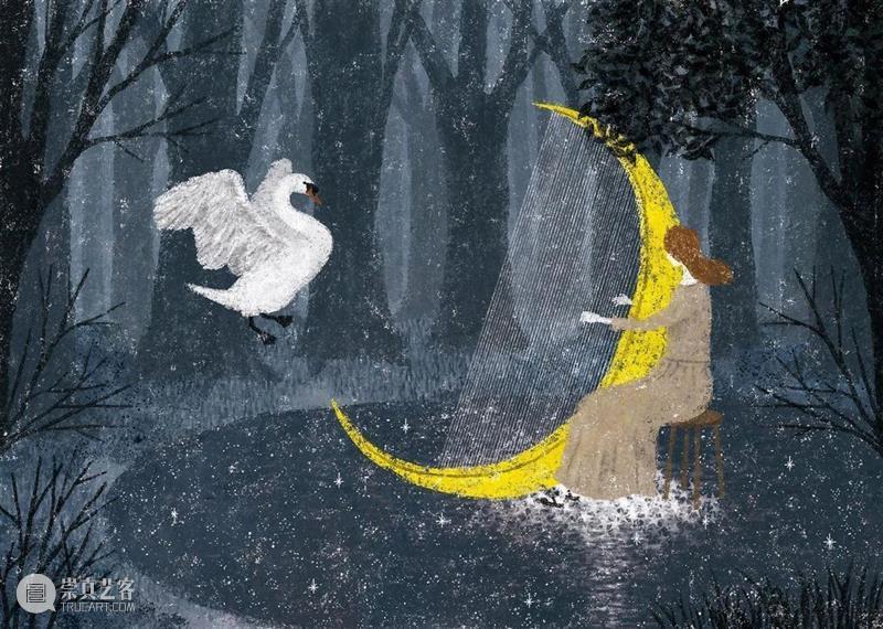 晚安,追月人 崇真艺客