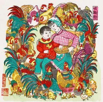 春节特辑——桃花坞年画 桃花坞年画 特辑 一团和气 木版 年画 中国 历史 民间艺术 形式 晚期 崇真艺客