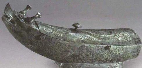 第三批禁止出国(境内)展览的青铜重器 境内 青铜 重器 国家博物馆 商代 四羊青铜方尊 青铜方尊 体型 造型 肩部 崇真艺客