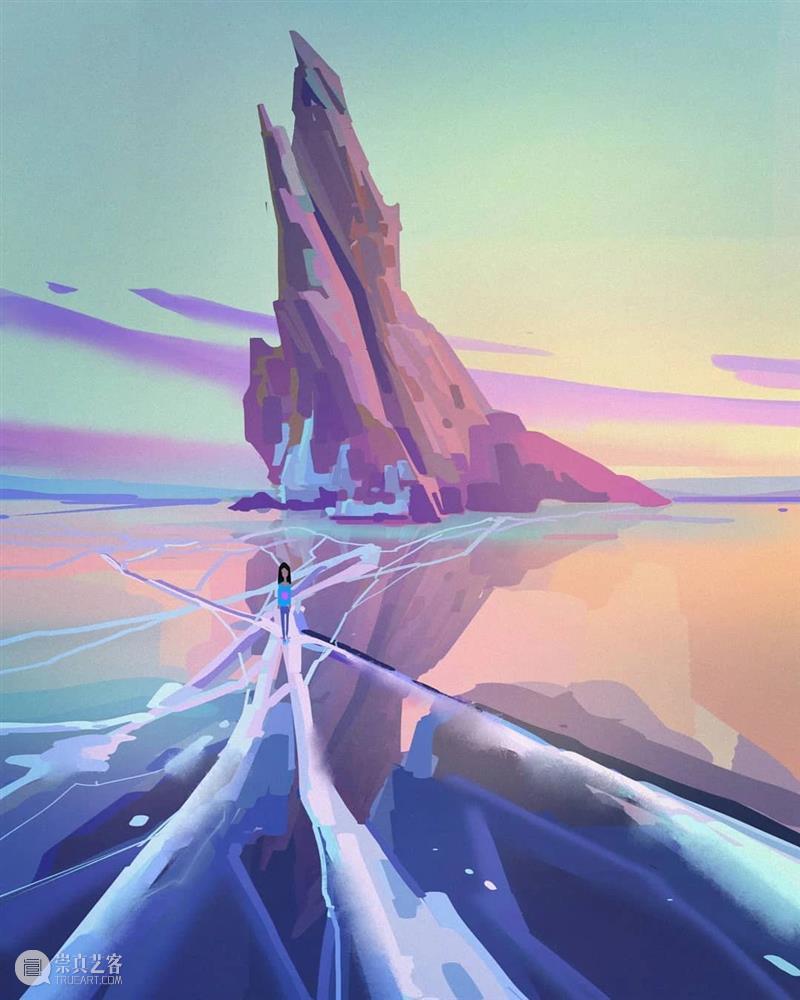诱人的光色 光色 视觉 艺术家 Wayne 色彩 画风 眼前 作品 往期 好文 崇真艺客