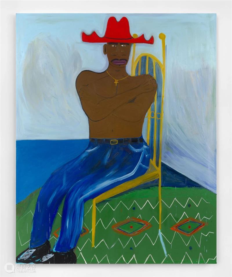 马库斯·哲马尔参展纽约公共艺术项目 #Walls for a Cause NYC|AR艺术家 马库斯·哲马尔 艺术家 纽约 艺术 项目 海洋内部 布面 油画 阿尔敏 莱希 崇真艺客