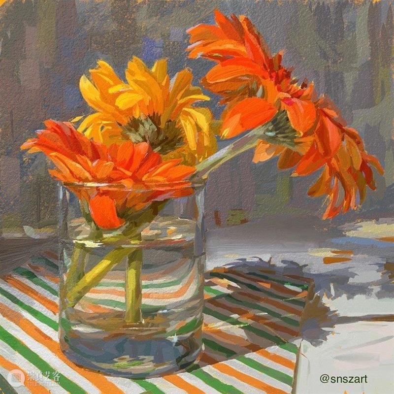 如果看完还不会画水果和花卉,那小志可帮不了你了 ~ 水果 花卉 小志可 END 崇真艺客