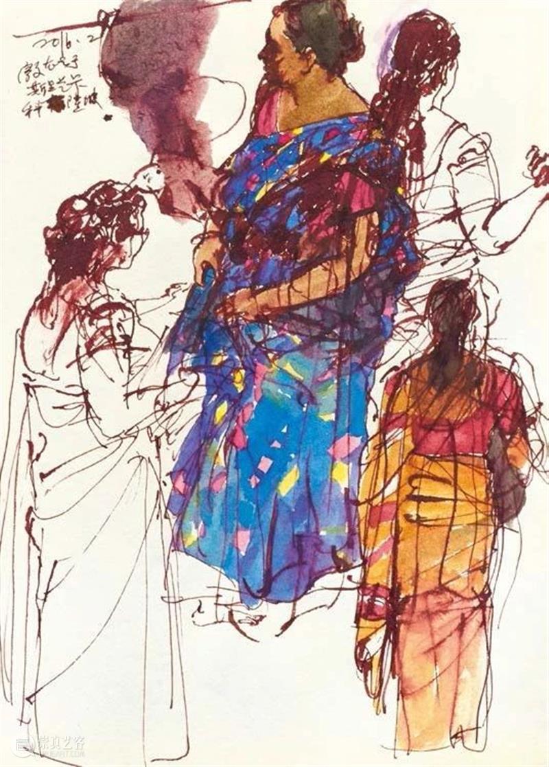 纸本篇|素履·殷雄写生作品展 素履 殷雄 作品展 纸本 绘画 作品 新疆 当地 骆驼 意大利 崇真艺客