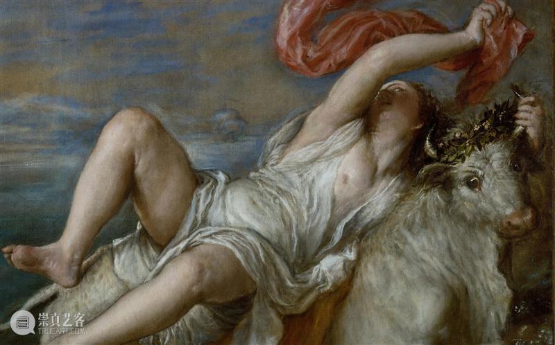 PSA牛年读牛图 | 《掠夺欧罗巴》——提香 牛年 掠夺欧罗巴 提香 PSA 牛图 初八 Europa 布面 油画 伊莎贝拉 崇真艺客