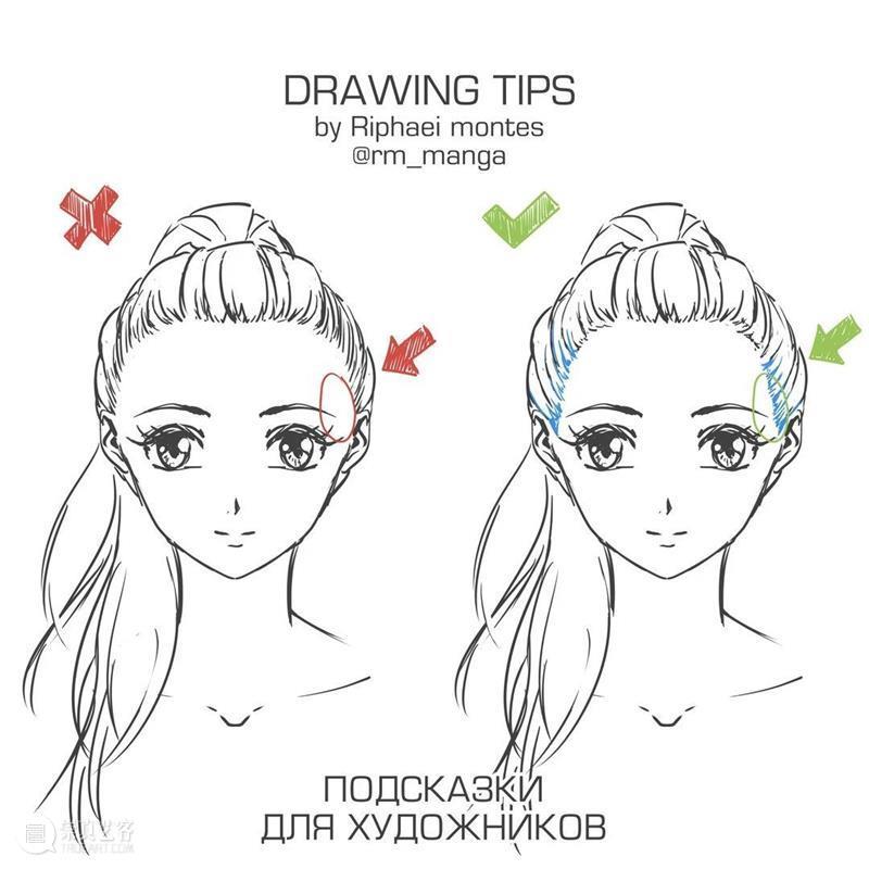 人体绘画的常见误区,你中招了吗? 人体 绘画 误区 manga 作品 往期 好文 纹样 素材 铅笔 崇真艺客