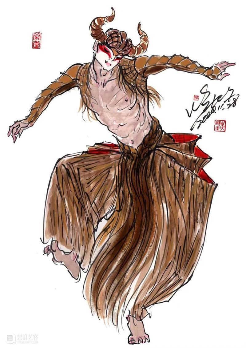 无缘春晚却被夸上热搜——崔晓东服装设计欣赏 博文精选 CISD 春晚 崔晓东 上方 中国舞台美术学会 右上 星标 杨丽萍 服装 造型 话题 崇真艺客