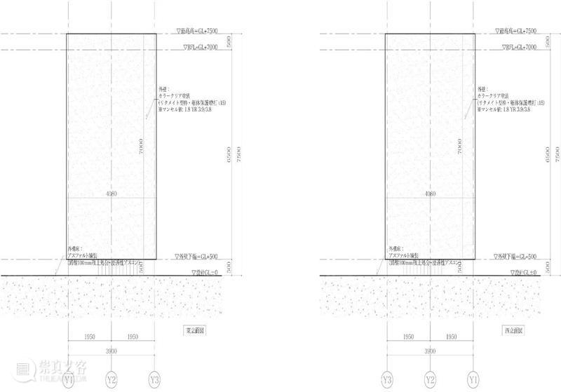 千駄谷'垂直'混凝土公共卫生间 / Suppose Design Office 混凝土 公共卫生 千駄谷 Hasegawa 建筑 城市 高速公路 国家体育场地铁站 之间 文化 崇真艺客