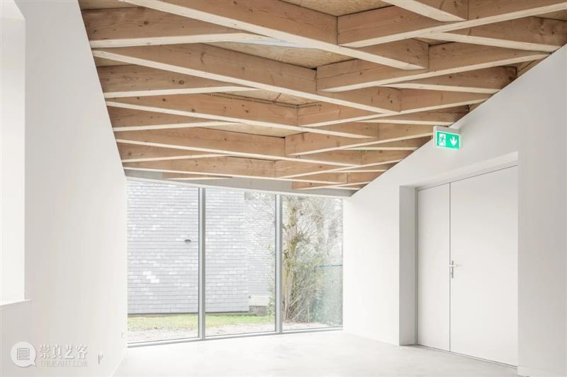 互承框架古老结构,比利时文化展厅 / LIST + Hideyuki Nakayama 展厅 框架 结构 比利时 文化 Jeroen 模型 几何 布局 新馆 崇真艺客