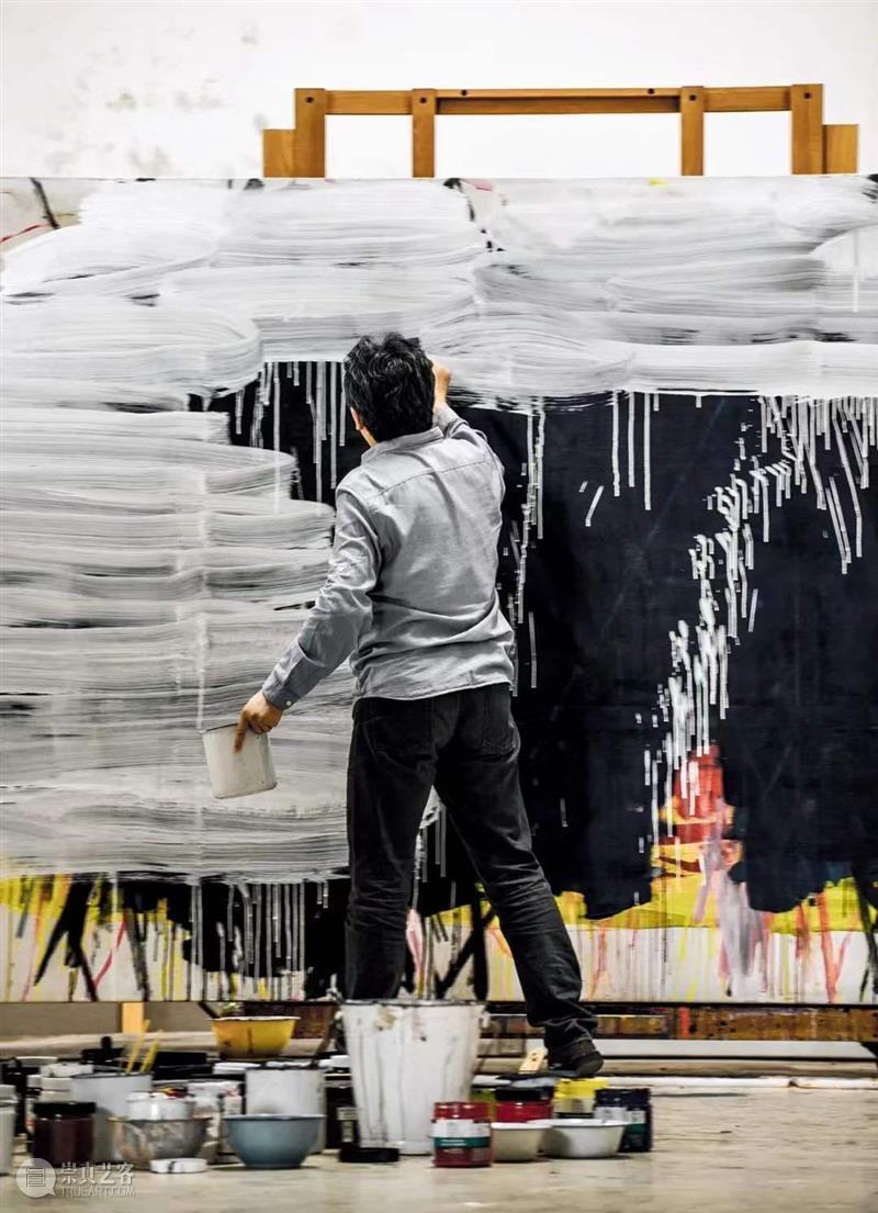 谭平:看时间分叉 艺术人文  谭平 时间 狮语画廊 崇真艺客