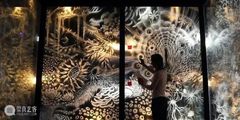 光影丨光绘装置《Pulse》——给光赋予生命是种什么体验? Pulse 生命 光绘 装置 光影 委内瑞拉 艺术家 Bueno 克劳迪娅·布埃诺 作品 崇真艺客