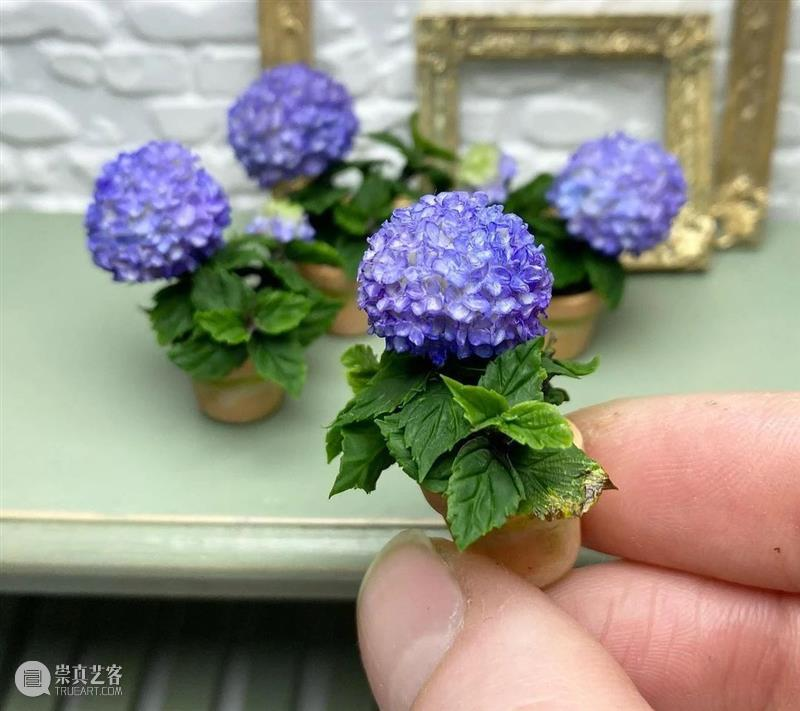不敢相信自己的眼睛,这么mini的花卉居然做得这么逼真 ! 眼睛 mini 花卉 END 崇真艺客
