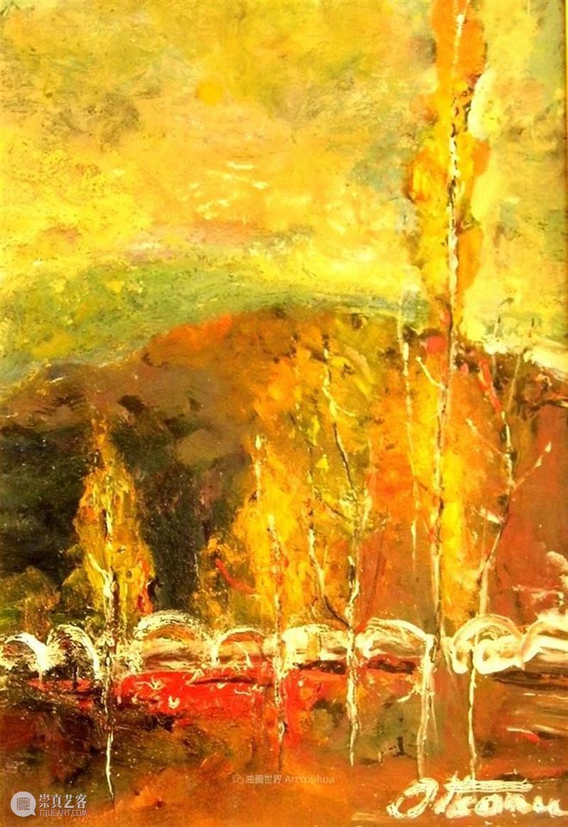绘画丨迷人而和谐的景致——内在宁静与情感风暴的完美交织 情感 风暴 绘画 景致 宁静 上方 中国舞台美术学会 右上 星标 本文 崇真艺客