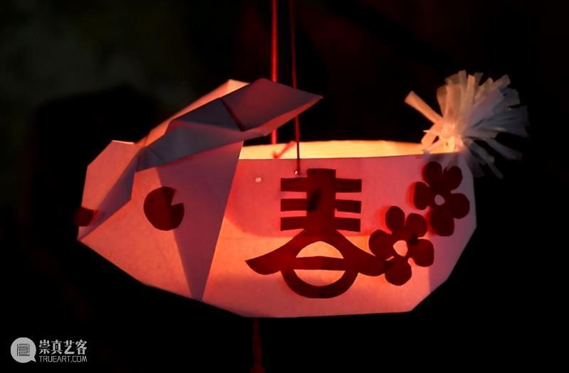 【育:艺术研习】元宵将至,折一只与众不同的兔子灯吧~ 兔子灯 艺术 元宵 汤圆 花灯 灯谜 徐汇艺术馆 年味 剪纸 线上 崇真艺客