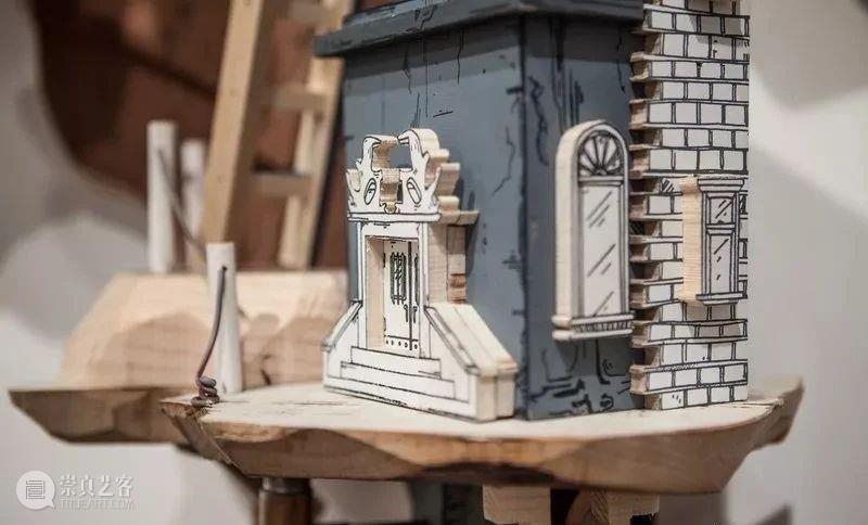 模型 绘画与雕塑结合创造悬浮岛屿 雕塑 模型 绘画 岛屿 上方 中国舞台美术学会 右上 星标 本文 Luke 崇真艺客