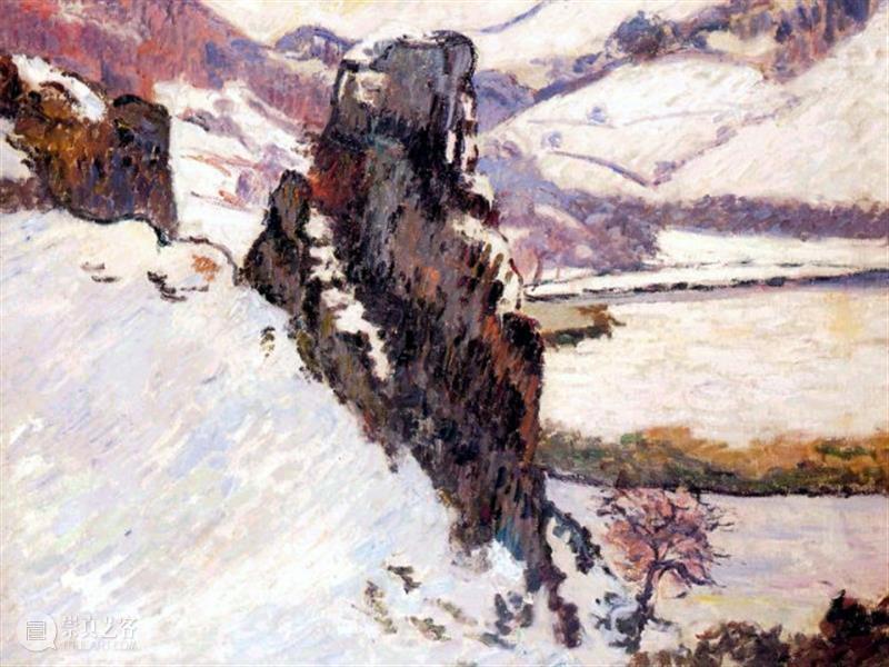 法国印象派画家阿尔芒吉约曼 阿尔芒 吉约曼 法国 印象派 画家 Landscape 巴黎 Jean 叔叔 内衣 崇真艺客