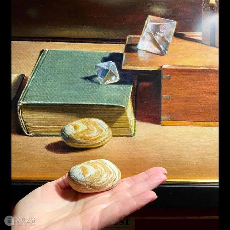 如果一张画让你画一个月,你能坐得住吗 ?  学美术,看▷ 崇真艺客