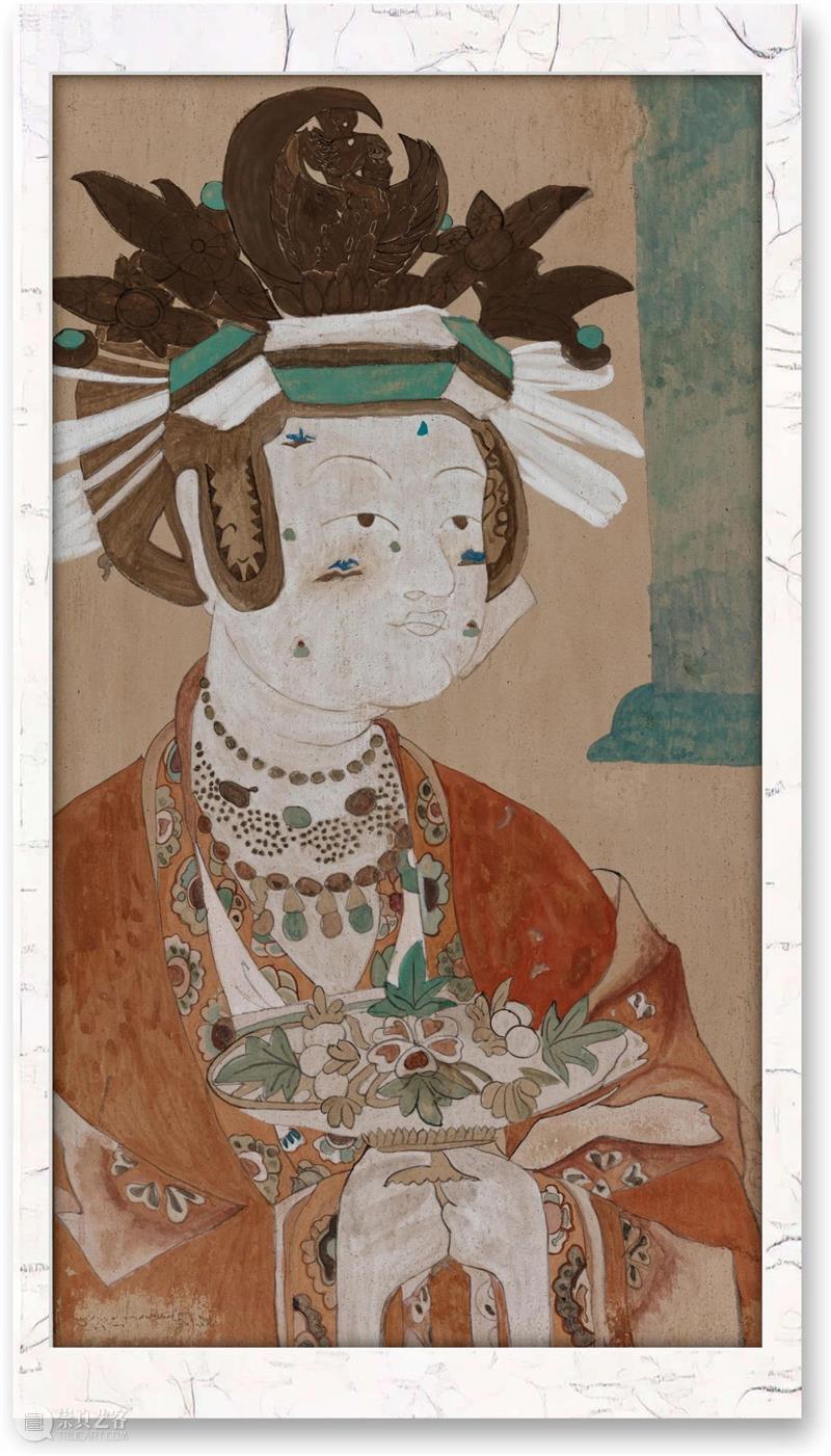 「松」工坊 | 仲春三月,摹画敦煌 敦煌 工坊 仲春 世界上 历史 地域 体系 文化 中国 印度 崇真艺客