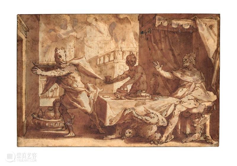 从动人肖像到古代及十九世纪绘画,佳士得巴黎呈献两场纸上艺术拍卖 | 3月24日 佳士得 巴黎 纸上 艺术 肖像 古代 绘画 早期 意大利 巴蒂斯塔 崇真艺客