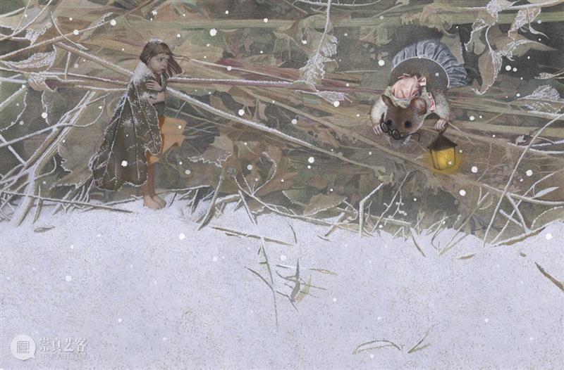 灰暗系色调的童话插画 童话 色调 插画 ova 世界 经典 现实 艺术家 细节 想象力 崇真艺客