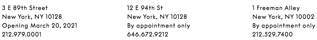 Salon 94新空间3E89th正式向公众开放! Salon 公众 新空间 East Street 旗舰 大楼 里程碑 意义 学院派 崇真艺客