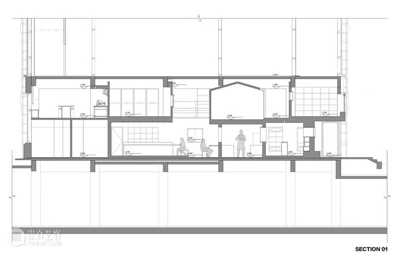 室内'街景',大连船埠餐厅 Chez Moi / 大棟建築 大连 室内 餐厅 船埠 街景 建筑 BAS Moi 项目 工作室 崇真艺客
