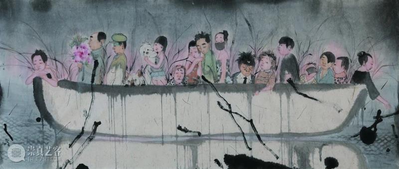 展览预告|学术共同体——当代学院中国画人物画教学研究展  广州美术学院大学城美术馆 学术 共同体 学院 中国 人物画 研究展 中央美术学院 广州美术学院 广州美术学院美术馆 中央美术学院中国画学院 崇真艺客