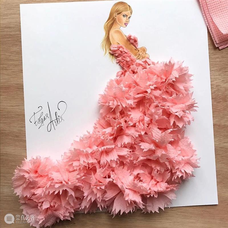 猜猜他们的裙子都是什么做的 ?不看完你绝对想不到 ! 裙子 END 崇真艺客