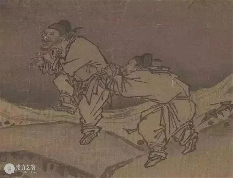 """【有艺思】笑到胃疼!原来古人画画也这么""""不正经""""~ 古人 艺思 胃疼 近距离 古画 专家 学者 放大镜 表面 许久许久 崇真艺客"""