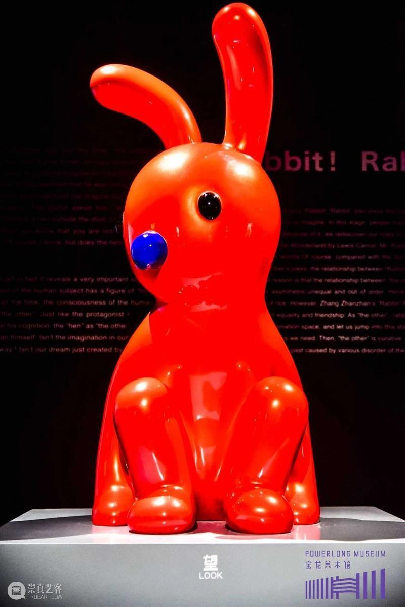 兔子!兔子!张占占个展今日开幕! 兔子 张占占 个展 上海宝龙美术馆 艺术家 中国 80后 美术 馆级 PUPU熊 崇真艺客