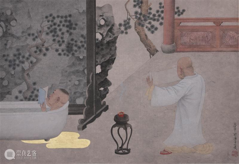 逸空间 评论|余启平的绘画美学 余启平 美学 空间 现场 painting启平 现代 传统 时间 古代 意蕴 崇真艺客