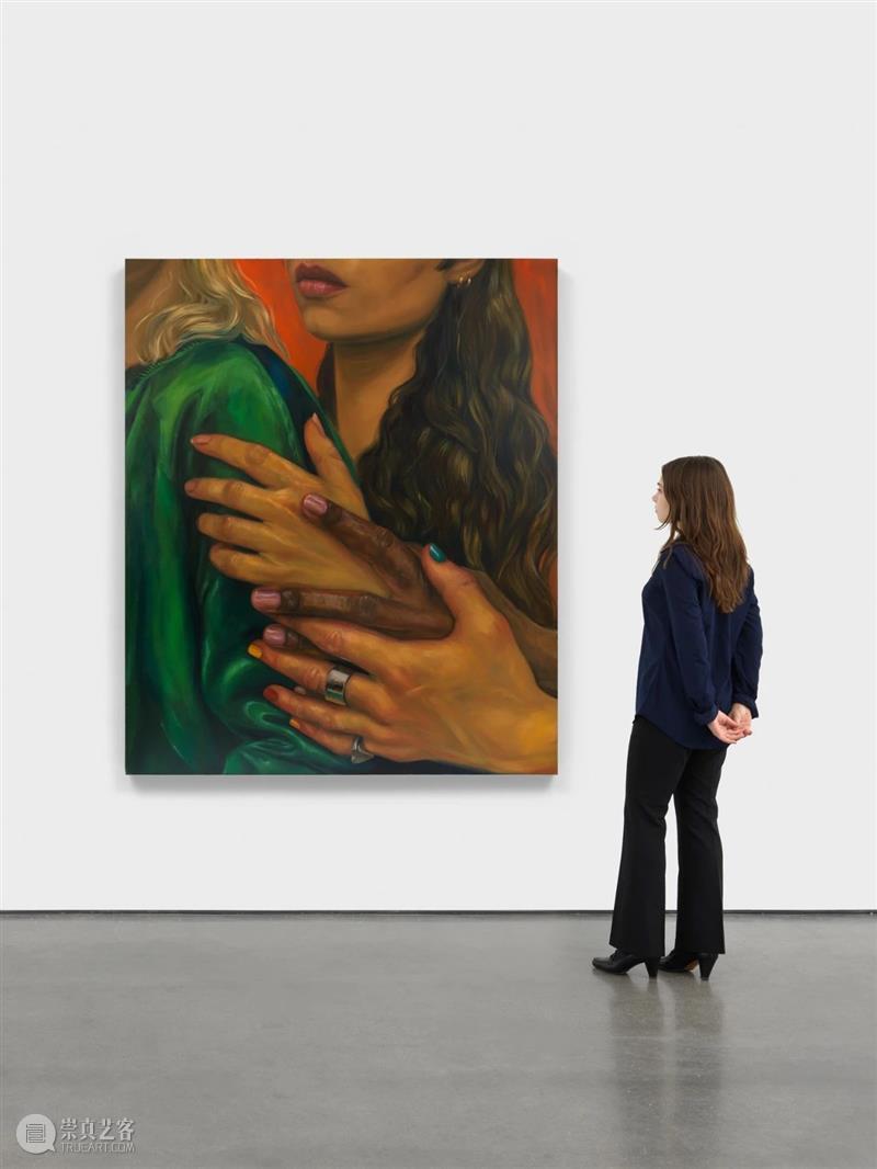 展览现场 克洛伊·怀斯(Chloe Wise)「谢谢你的火焰」@ 阿尔敏·莱希纽约  Almine Rech 阿尔敏 莱希 纽约 怀斯 火焰 克洛伊 现场 Chloe Wise 克洛依·怀斯 崇真艺客