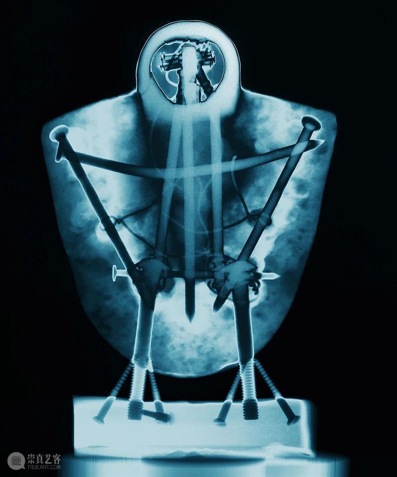 """展览预告   """"不可见:X射线下的艺术""""明日开展!  武汉美术馆 X射线 艺术 Titre invisible Ray 艺术家 泽维尔 卢舍斯Artiste Xavier 展期 崇真艺客"""
