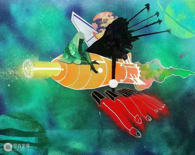 赛麟推介 | 乔相伟:离开伊甸园的绘画 伊甸园 乔相伟 赛麟 姜俊乔相伟 作品 空间 张力 90后 青年 艺术家 崇真艺客