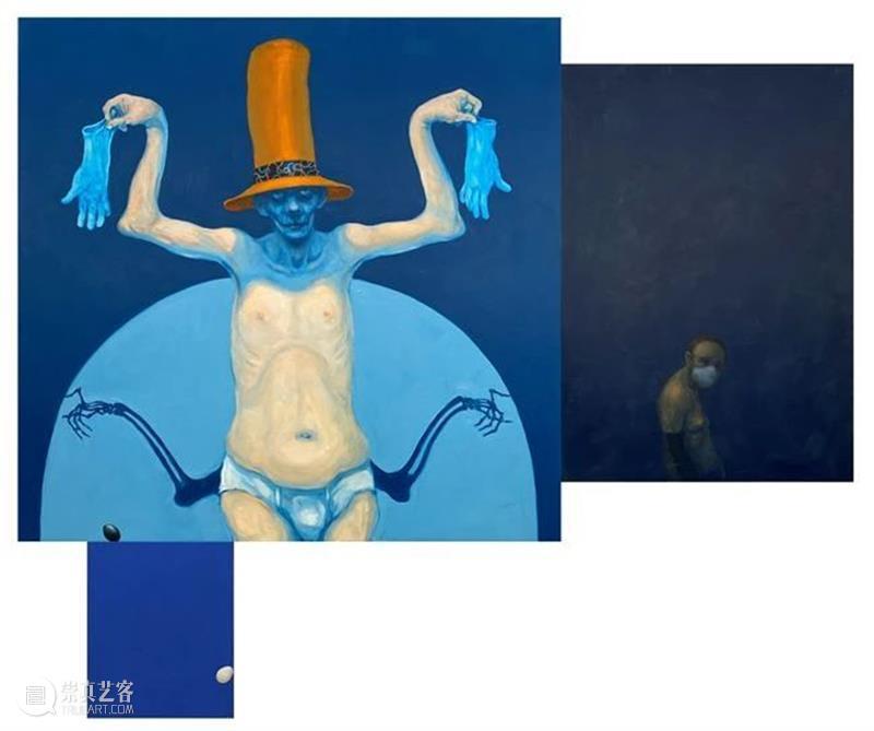 同行/不是恶趣味,是恶   Michael Kvium Kvium 同行 恶趣味 丹麦 艺术家 绘画 雕塑 戏剧 视听 艺术 崇真艺客