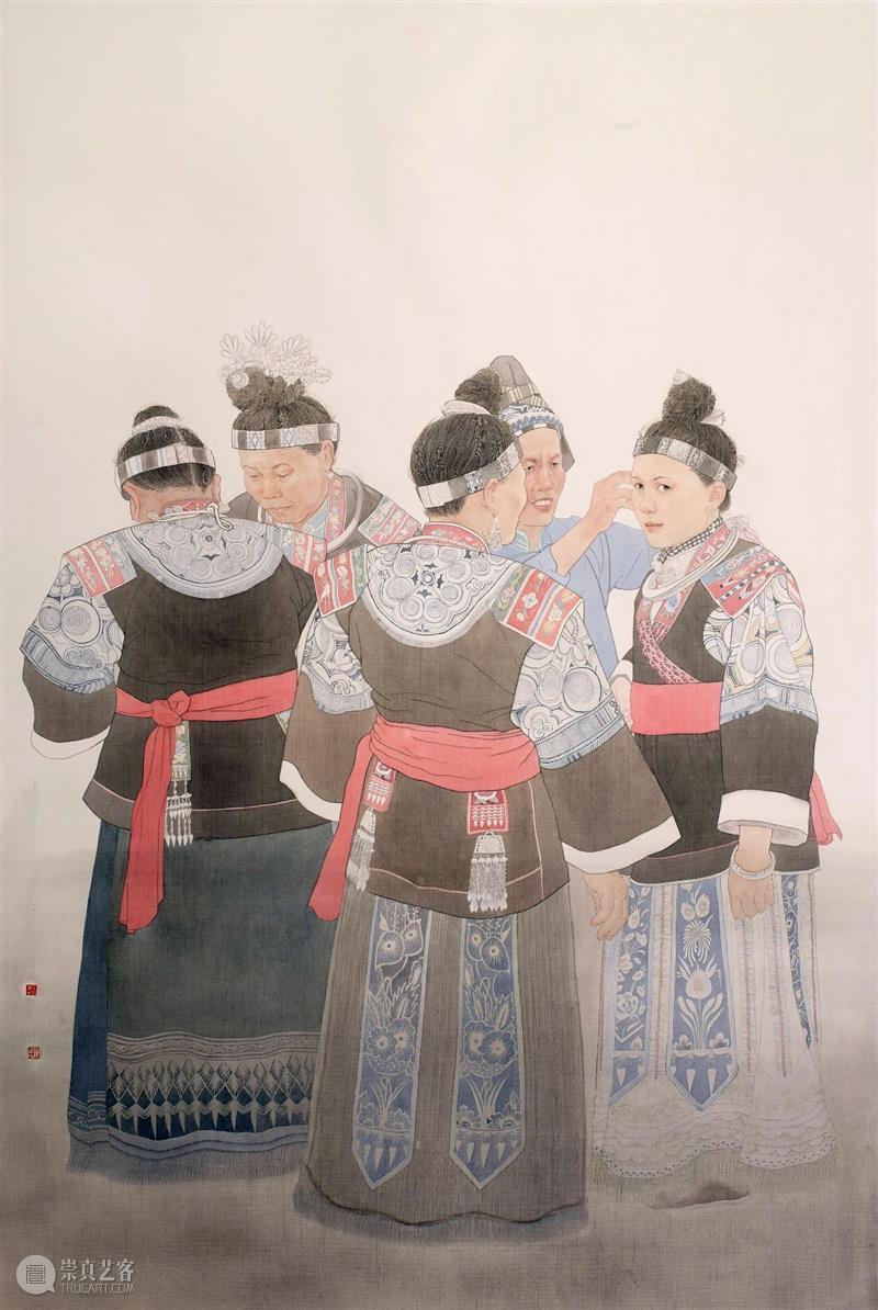 第十一届全国工笔画作品展   好画抢鲜看Vol.11  艺术与财富 崇真艺客