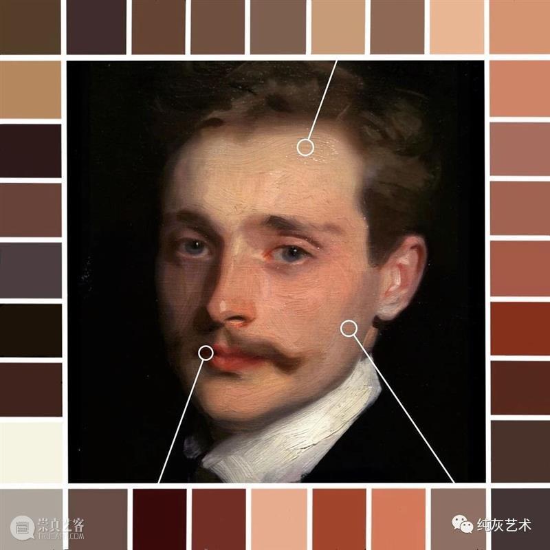 油画人物肤色中的色彩 油画 人物 肤色 色彩 艺术 艺术家 Bauman 佛罗伦萨艺术学院 课程 讲师 崇真艺客