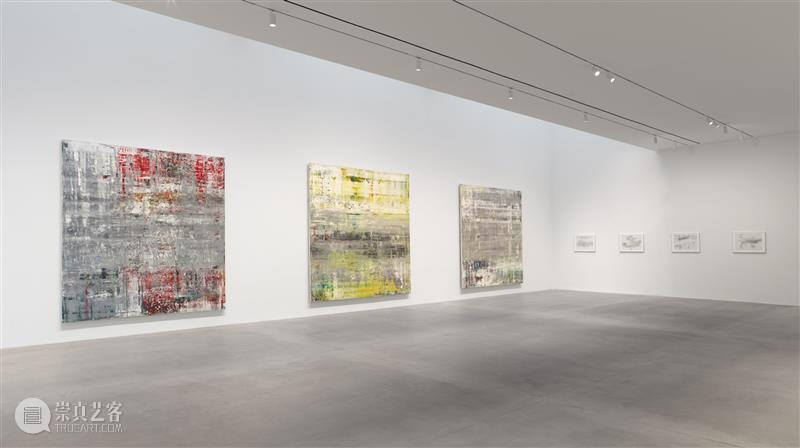 格哈德·里希特个展「凯奇绘画」在高古轩纽约展出 格哈德·里希特 个展 凯奇 绘画 高古轩 纽约 人们 约翰·凯奇 作品 偶然性 崇真艺客